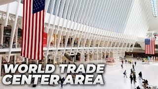 20th Anniversary of September 11 : Walking the World Trade Center Grounds in September 2021