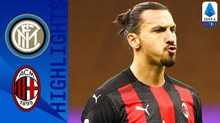 Inter 1-2 Milan | Zlatan Double Seals Derby! | Serie A TIM