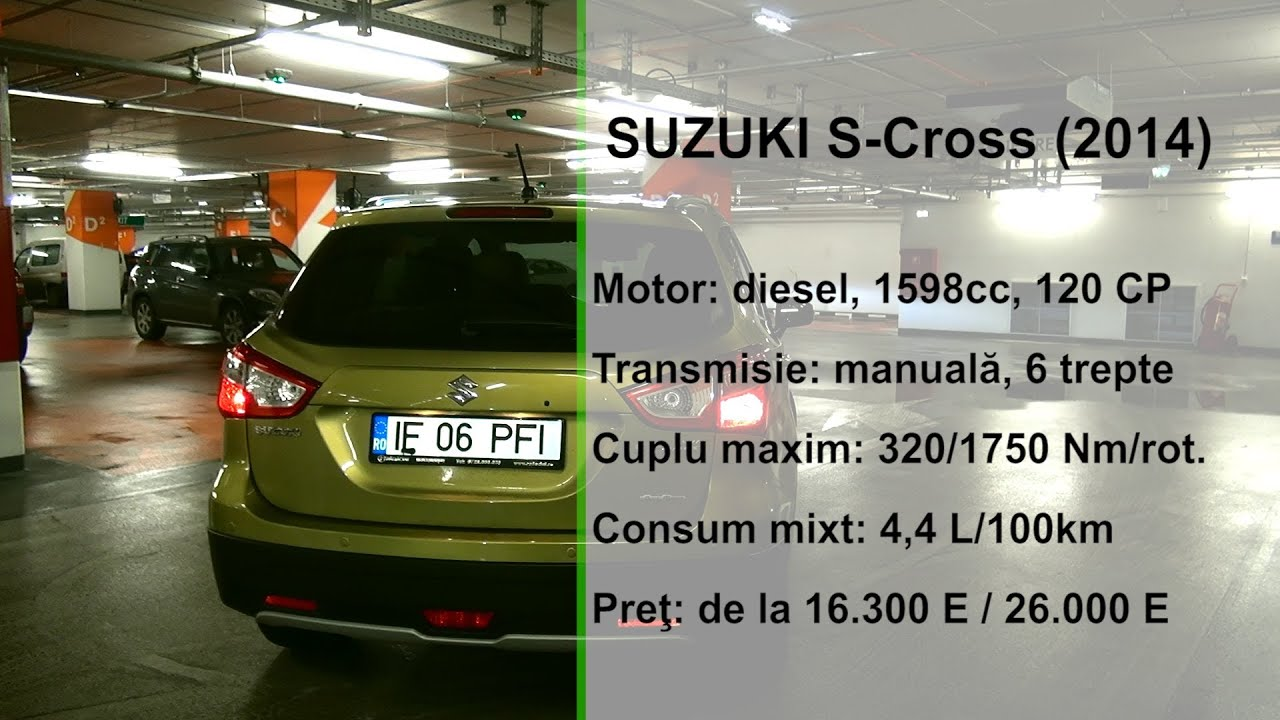 Suzuki SX4 S Cross 2014 (www.buhnici.ro)