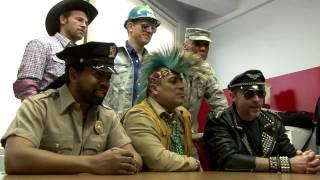 America's Best Racing's Joe Kristufek talks to The Village people a...