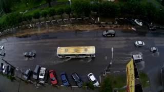Потоп на проспекте Победы 27.07.2016