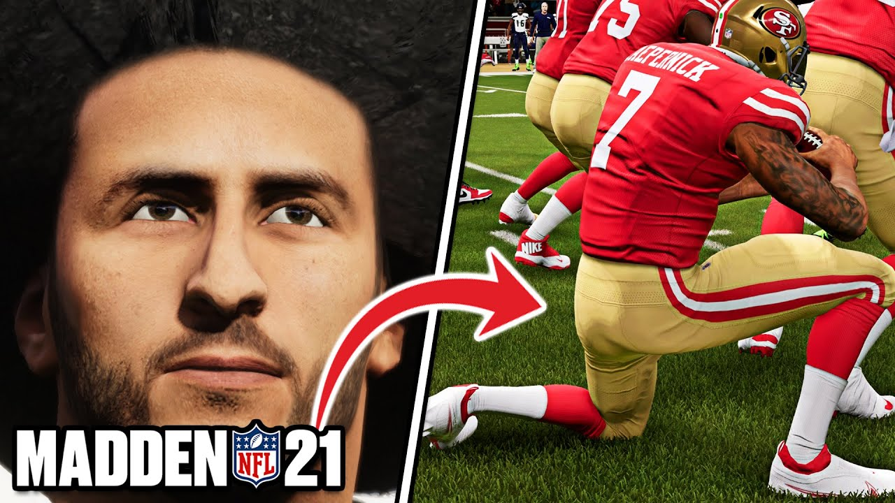 Colin Kaepernick added to 'Madden 21' in game's latest update, is ...