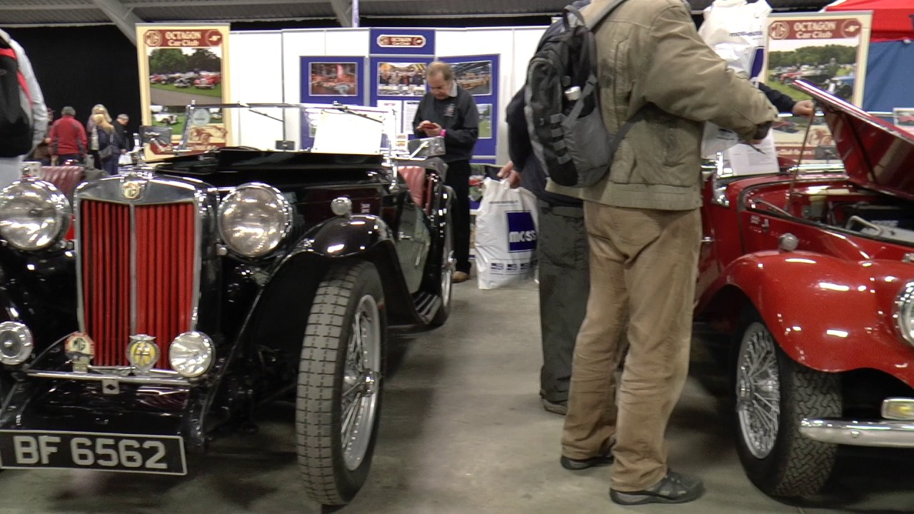 MG and Triumph Spares Day, Stoneleigh Park Feb 2017
