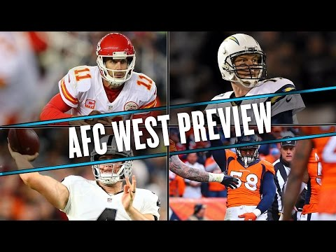 2016 AFC WEST: Raiders win the division, Broncos miss playoffs | Uffsides | NFL preview