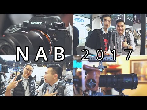 I PLAYED WITH SONY A9!! - NAB 2017 - VLOG