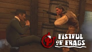 Playing Fistful of Frags: Wild West Footsies