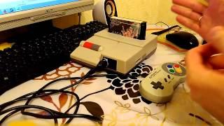 Як підключити геймпад до 7 контактний АВ для Famicom/денді