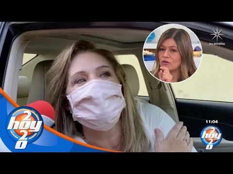A Erika Buenfil no le importa hacer las paces con Martha Figueroa | Hoy