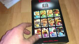 Tefal SW852D27 Snack Collection Multi-Function Sandwich and Snack Maker unboxing and instructions