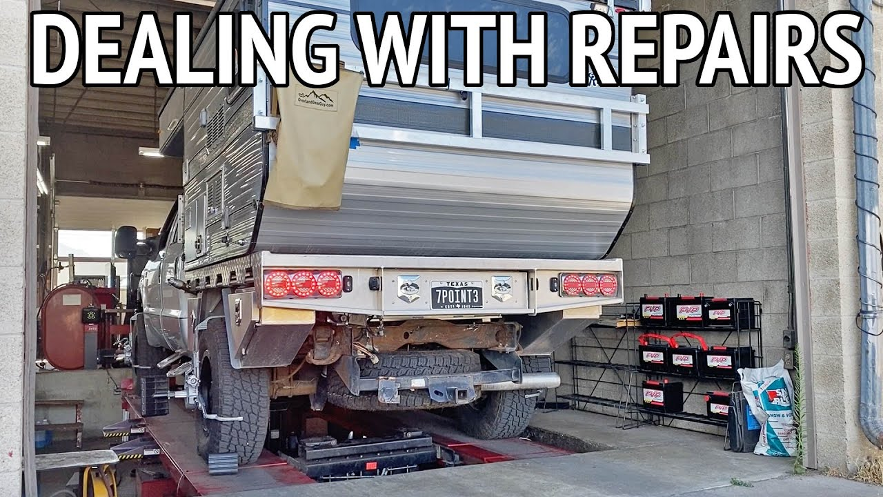 Dealing with Repairs on the Road | Full Time RV Living