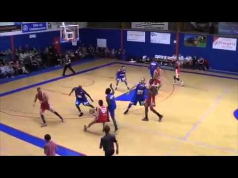Jeremy Williams 2014/15 Highlights - La Berrichone Number 5 wearing blue