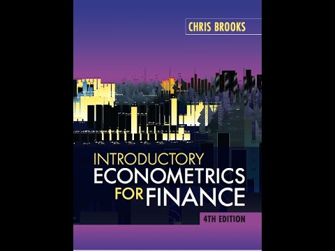 Introductory Econometrics for Finance Lecture 18