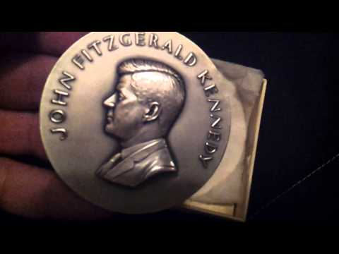 Short Video Of Five Ounce Silver Medal