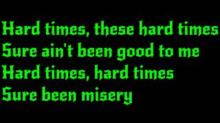 AC/DC - Hard Times Lyrics (HD)