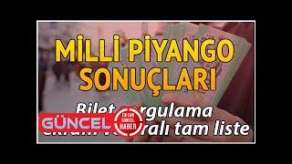 Milli Piyango 19 Ağustos bilet sorgulama.. Milli Piyango sonuçları
