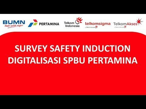 SURVEY SAFETY INDUCTION DIGITALISASI SPBU