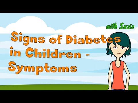 Signs of Diabetes in Children - Symptoms of Child Diabetes Help Parents to Diagnose