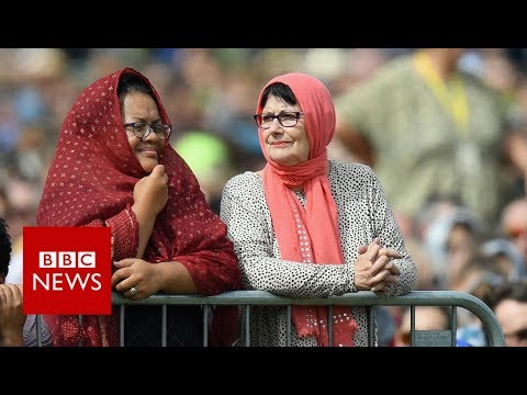 Christchurch shootings: 'Thank you for your tears... your love' - BBC News
