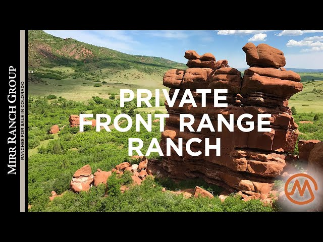 Ranches for Sale in Colorado - Dakan Ranch (Beautiful Red Rock Formations!) - SOLD!