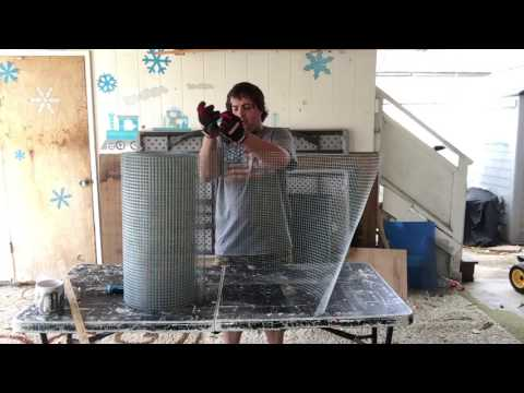 How to build a quail cage : Cheap, fast and easy