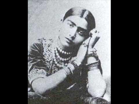 Gauhar Jan _Raga Sohini_Maika Piya Bina