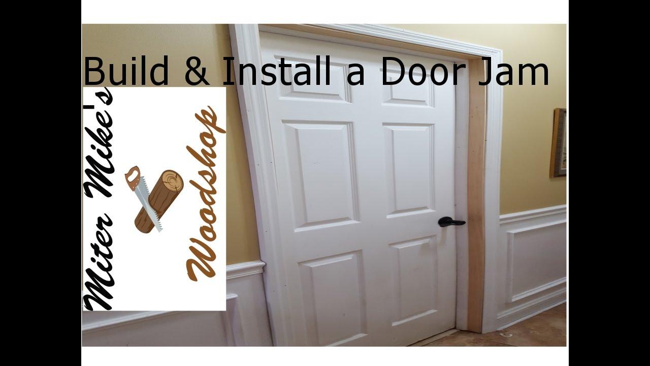 Building \u0026 Installing a Door Jam & Building \u0026 Installing a Door Jam - YouTube