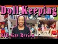 DOLLKEEPING: Ball Jointed Doll Size Review: SD Girls, MSD, YoSD and Tinies