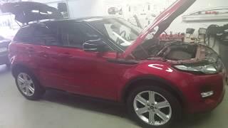 Кривая установка дополнительного оборудования официальным дилером Range Rover