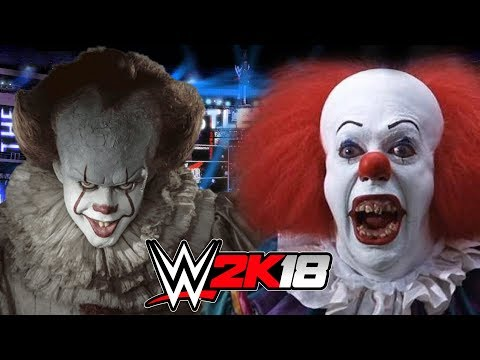 NEW PENNYWISE vs OLD PENNYWISE | WWE 2K18 Gameplay