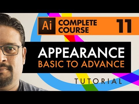 Basic To Advanced  |  Adobe Illustrator CC  |  Learn how to use appearance panel in illustrator