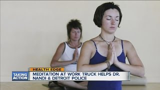 Meditation at the Detroit Police Department