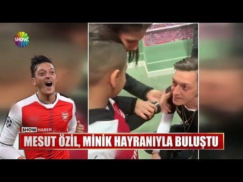 Mesut Özil, Minik Hayranıyla Buluştu