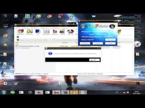 установка видео обоев на Windows 7