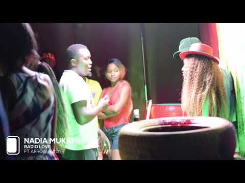 THE MAKING OF RADIO LOVE VIDEO BY NADIA MUKAMI ft ARROW BWOY SMS SKIZA 8545509 to 811