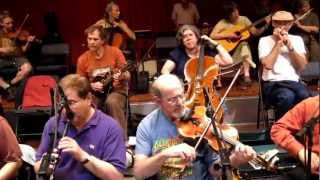 """The Fabulous Glen Echo Open Band"" at Glen Echo, MD Contradance 2012-05-11 / CALLER: Rickey Holt"