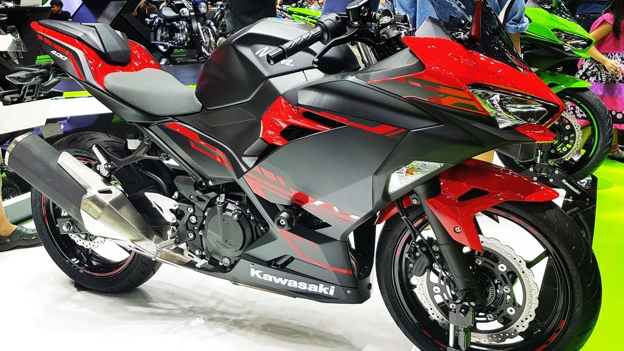 Kawasaki Ninja Black And Red