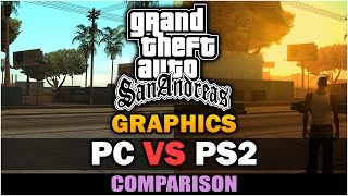 GTA San Andreas - PS2 VS PC Graphics [In-depth Comparison]