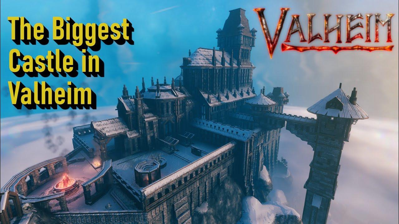 Download Valheim - The Biggest Castle Ever Built in Valheim, Castle Fairfax