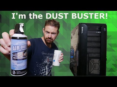 How to clean your PC with less mess