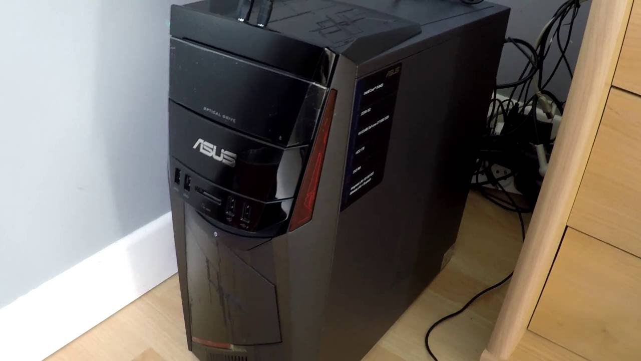 unboxing pc asus g11cd fr065t en detail youtube. Black Bedroom Furniture Sets. Home Design Ideas
