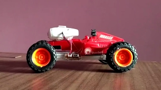 how to make a car using high speed coreless motor