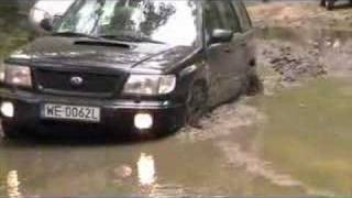 Forester in deep mud