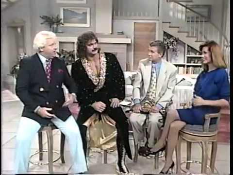 Ravishing Rick Rude and Bobby Heenan on Regis and Kathie Lee (1989)