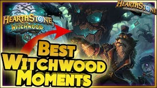Hearthstone - BEST WITCHWOOD Moments - Daily Funny Rng Moments
