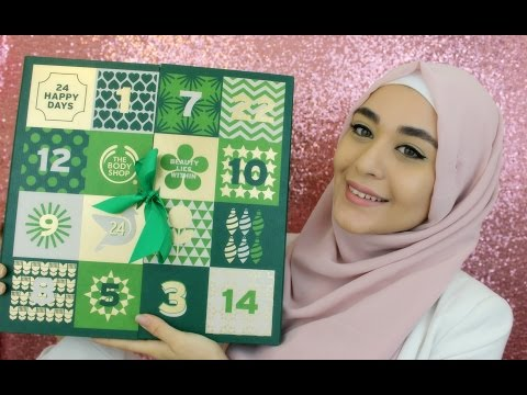 BIG Unboxing THE BODY SHOP + Concours | Muslim Queens by Mona