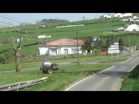 Touring around the Island of Sao Miguel Azores