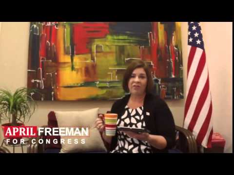 """""""Vote by Mail""""  -  April Freeman for Congress"""