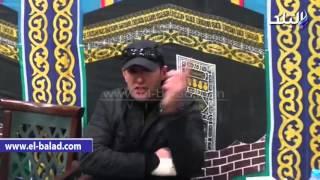 بالفيديو ... نيللي وفاروق الفيشاوي وهناء الشوربجي في عزاء 'فيروز'