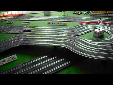 SCX 1//43 Compact 4 Straight Track Pieces 9 Inches