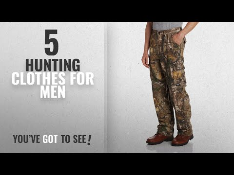 Top 10 Hunting Clothes For Men [2018]: Walls Men's Legend 6-Pocket Cargo Pant With DryIQ Water